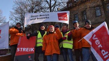 Streik beim Lichtenfelser Obermain-Tagblatt