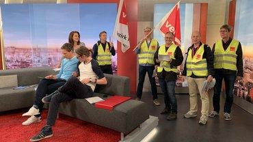 WDR, Rundfunk, Warnstreik, verdi