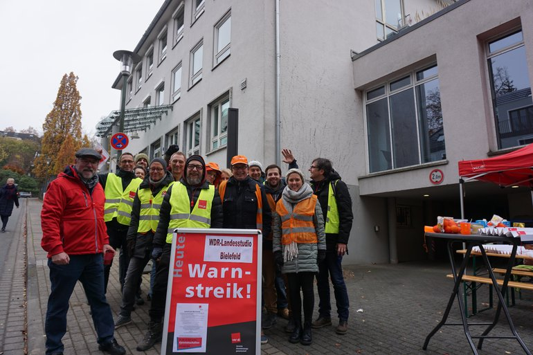 WDR, Warnstreik, Beitragsservice