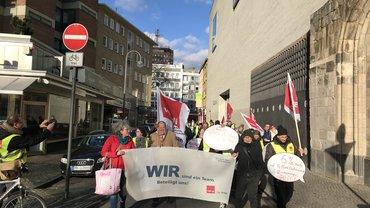 Rundfunk, Streik, Streikbewegung, Tarifvertrag, WDR, Beitragsservice