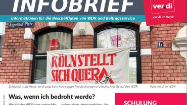 Infobrief, WDR, ver.di, Beitragsservice, ZBS, Jaspar Prigge, Schulung, Drohungen, Shitstorm, Neonazis, Rechts