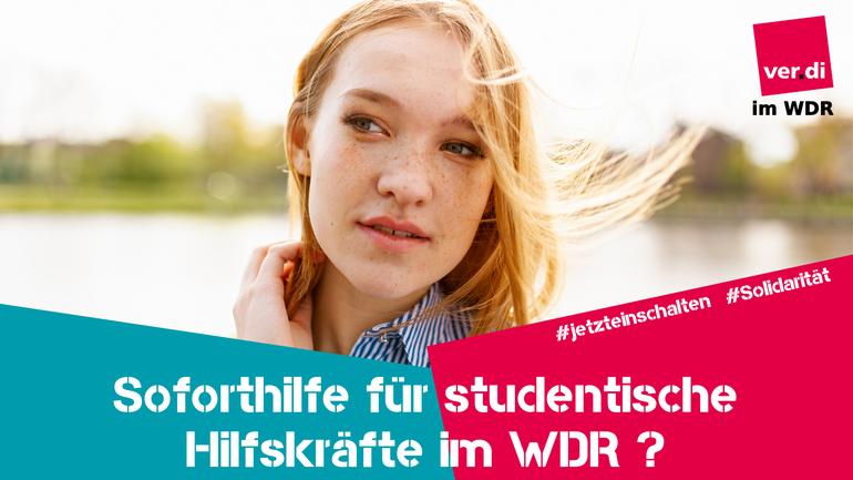 Rundfunk, Studentische Hilfskräfte, Soforthilfe, WDR, Landesstudios