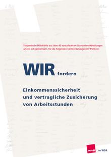 Studentische HIlfskräfte, WDR