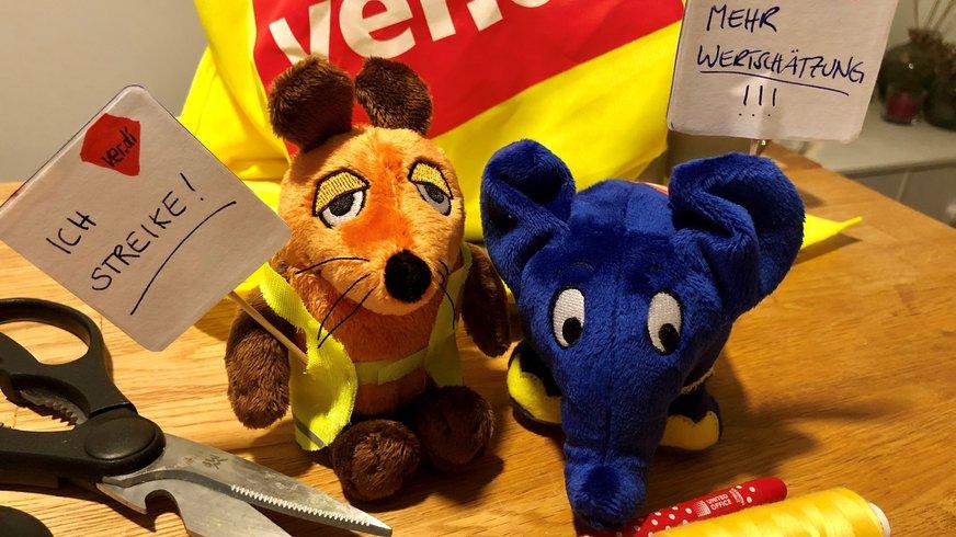 Maus und Elefanten, Mitglieder, Tarifrunde, WDR